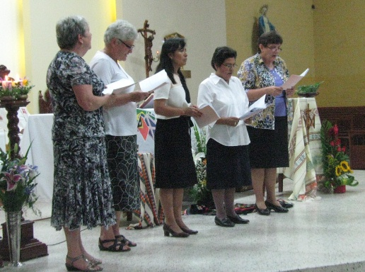 Jenny and Charo's life vows